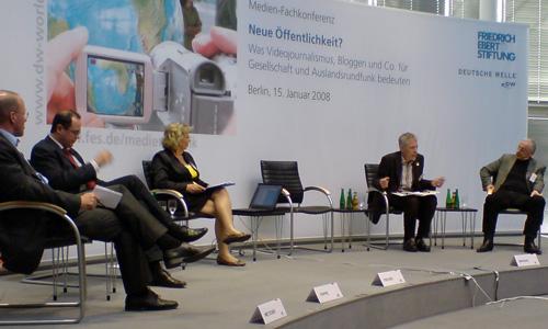 Metzger (ZDF) Trippe (DW) Fischer (DW) Brendel (Küchenradio) Timm (DF)