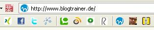 Favicons beim Blogtrainer