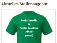 Spreadshirt sucht Social Media Officer