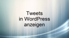 tweets-in-wordpress-anzeigen