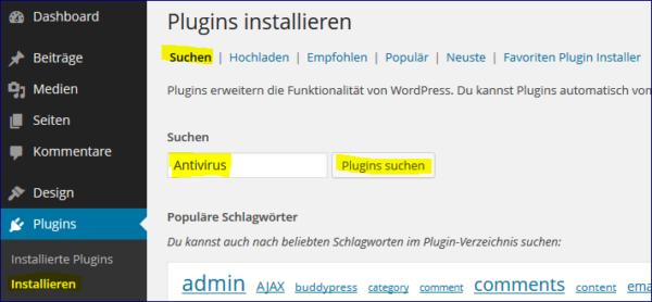 antivirus-suchen