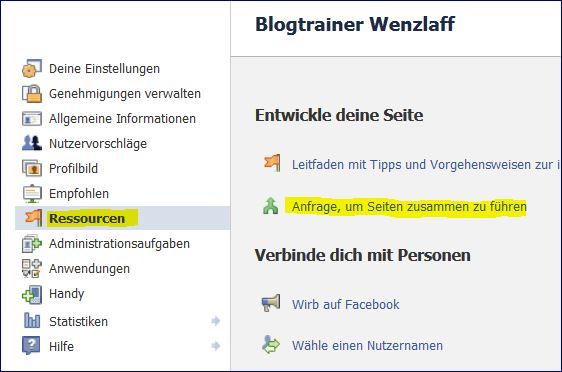 facebook-seiten-zusammenlegen