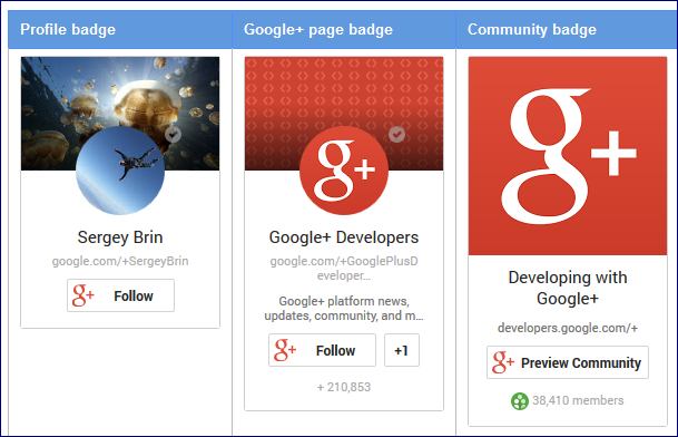 types-google-badges