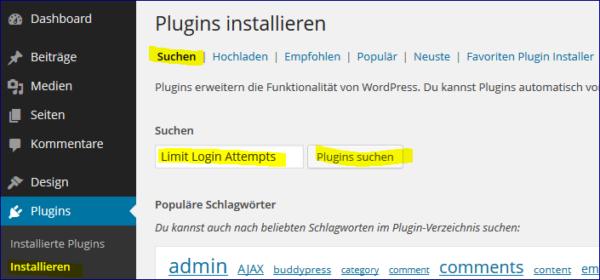 limit-login-suchen