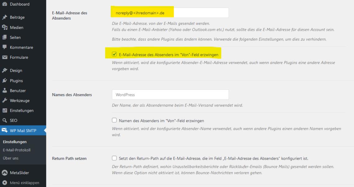 WordPress Mail SMTP (1)