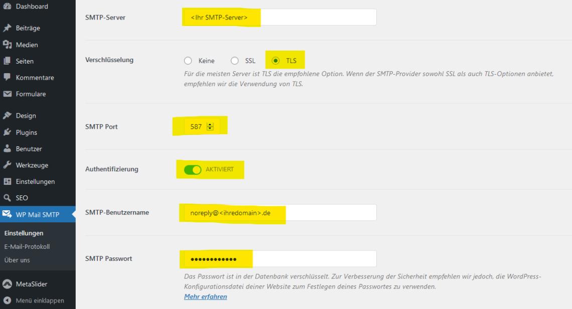 WordPress Mail SMTP (3)